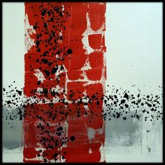 ABSTRATO RED, GREY, WHITE AND BLACK 2 by jorgecalfo_GALERIA on Flickr.