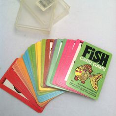 Remember this game??? FISH CARD GAME 1975 by sugarlily on Etsy, $12.00