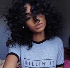 Human Hair Wigs Brazilian Malaysian Indian Remy Curly Human Hair Full Lace Wig Virgin Hair Lace Front Loose Wave Wigs For Black Women Love Hair, Gorgeous Hair, Weave Hairstyles, Pretty Hairstyles, Black Hairstyles, American Hairstyles, Curly Hair Styles, Natural Hair Styles, Coiffure Hair