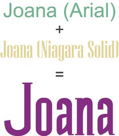 Joana Vidal | Arial + Niagara Solid