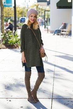 Little Blonde Book by Taylor Morgan | A Life and Style Blog : Beanie Weather