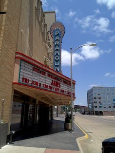 Another view of The Paramount, Avilene Texas Abilene Texas, Big Country