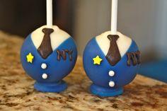 Police Cake Pops by sweetpopsshop on Etsy
