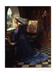 Fair Rosamund, 1916 Giclee Print by John William Waterhouse at AllPosters.com