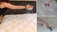 How often do you clean your mattress? Did you even know that you should be cleaning your mattress? Not only will cleaning your mattress rid it of toxins, clean Baking Soda Uses, Diaper Rash, Mouthwash, Cooking Oil, Litter Box, Food Containers, Dry Shampoo, Clean Recipes, You Nailed It
