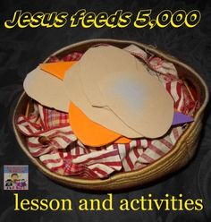 Whether you're in middle school, high school, university Jesus Feeds The Multitude, Jesus Feeds 5000, Sunday School Lessons, Sunday School Crafts, Lessons For Kids, Bible Stories For Kids, Bible Story Crafts, Jesus Walk On Water, Ss Lesson
