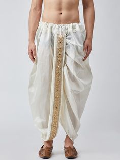 Discover Latest & Trendy Clothing & Accessories like SOJANYA Men Off-White Dhoti Pants online in Best Price! Trendy Outfits, Girl Outfits, Fashion Outfits, Trendy Clothing, Clothing Accessories, Western Outfits, Indian Outfits, Indian Men Fashion, Mens Fashion