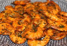 Day 2 - Scampi's met een pittige paprika charmilla, was lekkerr! Ingrediënten voor scampi op Marokkaanse wijze: garnalen (gepeld of ongepeld), 2 knoflookteentjes,