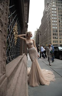 Inbal Dror 2016 Wedding Dresses - Mermaid sleeves wedding dress   itakeyou.co.uk