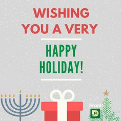 May your holidays be filled with health, happiness and good cheer. We are still here for you during this time: (877) 937-0846