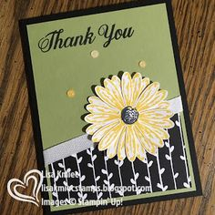 Stampin' with Lisa: Colour Combo Blog Hop Daisy Delight Bundle