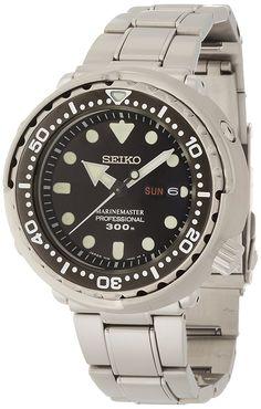 Amazon.com: Seiko Men's SBBN031 Prospex Analog Japanese Quartz 300m Water Resistant Watch: Watches