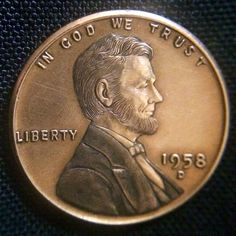 "CHRIS ""DECHRISTO"" DEFLORENTIS HOBO PENNY - ABE - 1958 LINCOLN CENT"