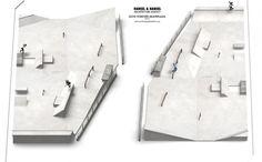 Govi Forever skateplaza : HANSEL & HANSEL | architecture agency Landscape, Scenery, Corner Landscaping