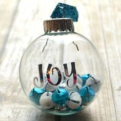 This ornament takes less than 5 minutes to make and adds a festive flair to your tree!