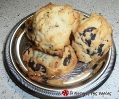 Cookies με ξύσμα πορτοκαλιού και σοκολάτα