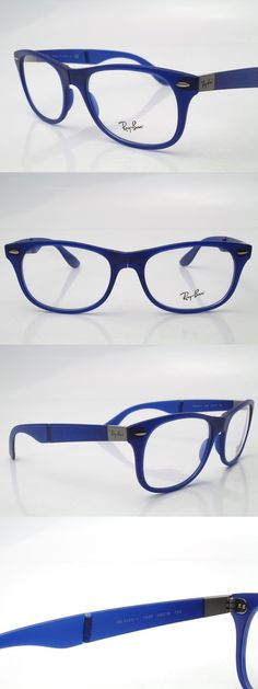 8b0789bc2c66c Eyeglass Cases  New Ray Ban Rb 4223-V Rb4223v 5520 Folding Eyeglasses  Frames Blue