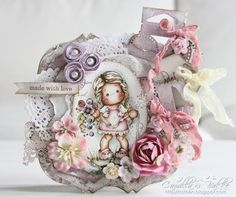 Cards by Camilla: MDUC # 204~ Kathrin's choice - SHABBY ♥