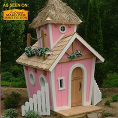 The site is called ( Kids Crooked House Playhouses), just adorable!!
