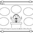 Great+Martin+Luther+King+Jr.+Themed+worksheets+for+pre-k,+kindergarten,+and+first+grade!  Clip+Art:  The+Hazel+Owl http://www.teacherspayteachers.c...