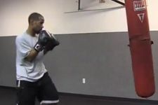Vegan Boxer Working Out on http://www.naturallifeenergy.com