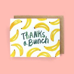 Cute Thank You Cards, Thank You Card Design, Handmade Thank You Cards, Cute Cards, Quick Cards, Watercolor Cards, Watercolour, Watercolor Ideas, Bday Cards