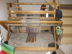 Union Rug Loom This Was The Loom Passed Down From My