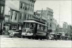 Broad and New Streets, Bethlehem, Pa ca 1925 · Trolley