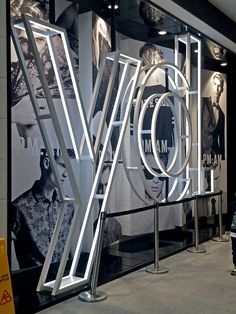 yd. Signage by Signaction #letters #sign #signage #fashion