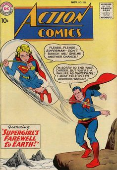 Cover for Action Comics (1938 series) #258