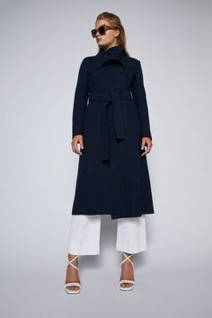 Scanlan Theodore, Rhinestone Belt, Wool Coat, Project 333, Glamour, My Style, Wool Pea Coat, The Shining