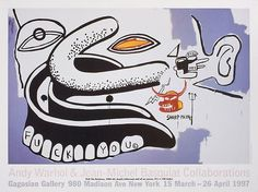 Andy Warhol & Jean-Michel Basquiat: Collaborations Poster  $40 @ Gagosian SHOP