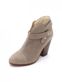 Rag & Bone Harrow Suede Booties are a perfect transition from summer to fall.