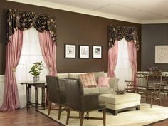 Draperies provided by ZBlinds Company Fresno, CA.