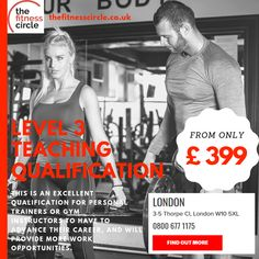 The Fitness Circle provides Diplomas, Level 2 and Level 3 Certification in personal trainer courses London. Our courses contain the recent material and prepare you to be the best personal trainer. Visit us today or call us on 08006771175 to have a bright future in the Health & Fitness Industry. Personal Training Courses, Becoming A Personal Trainer, Level 3, Bright Future, Kettlebell, Trainers, How To Become, Health Fitness, Teaching