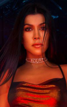 'KOURT' Diamante Choker | Kourtney Kardashian