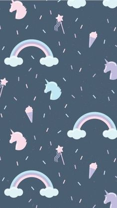 Wallpaper From unicorns Unicornios Wallpaper, Hipster Wallpaper, Kawaii Wallpaper, Tumblr Wallpaper, Cellphone Wallpaper, Disney Wallpaper, Lock Screen Wallpaper, Pattern Wallpaper, Wallpaper Quotes