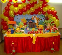 Winnie the Pooh...works for girl or boy party.