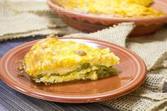 Chile Relleno Casserole. An easy and delicious combination of Hatch green chiles, shredded cheese and an egg and cream batter, baked to a gooey perfection!