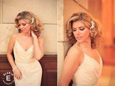 Shoulder length, curls, blonde, wedding, bride, bridal hair, vintage, wedding hair, bridal makeup, wedding makeup, Make Me Fabulous
