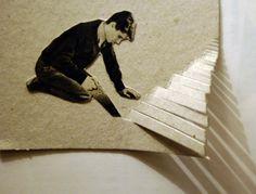 Haciendo una escalera (Rodrigo Díaz)