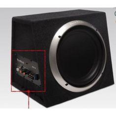 Black Music BXA-12A Subwoofer Attivo da 320mm in Cassa 150W RMS a 4 ohm