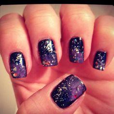 Legit Galaxy Nails!