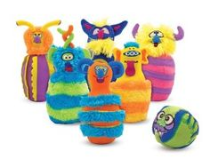 Melissa and Doug Monster Bowling Set. Melissa and Doug Monster Bowling Set Why is this set awesome? Bowling Games For Kids, Fun Games, Monster Birthday Parties, Monster Party, Monster Mash, Birthday Ideas, 2nd Birthday, Monster Room, Monster Nursery