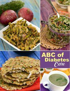 Top 10 Healthy Diabetic Indian Recipes, Veg | TarlaDalal.com | #151