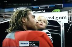 Holtby with son Benjamin. <3
