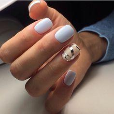Beautiful nails 2017 Beige and pastel nails Cool nails Fall nail ideas Nails trends 2017 Nails with stickers Office nails Pastel nail designs Hair And Nails, My Nails, Polish Nails, Nagellack Design, Nails 2017, Manicure E Pedicure, Manicure Ideas, Pedicures, Gel Manicure Designs