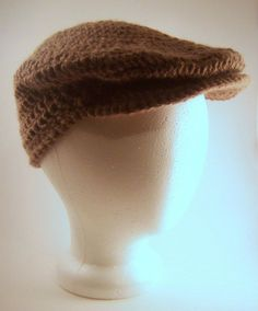 bobwilson123 - Youtube Tutorials: Crochet Cast of Crew Cap - Free written…