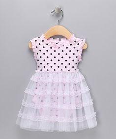 Pink Polka Dot Tutu Bodysuit - so pretty!