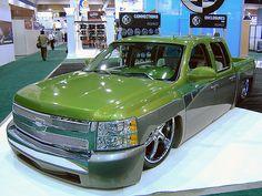 Lowrider Chevy Trucks Colorado   Chevy Silverado lowrider pickup   Flickr…